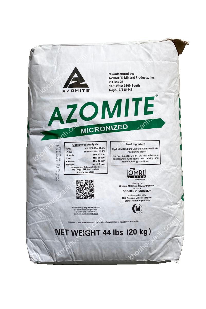 AZOMITE - Khoáng Mỹ