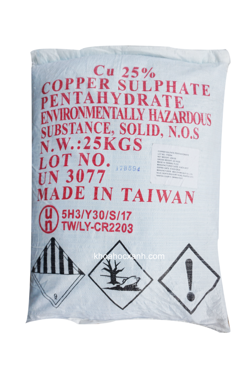 CuSO4 do - Đồng sulphate
