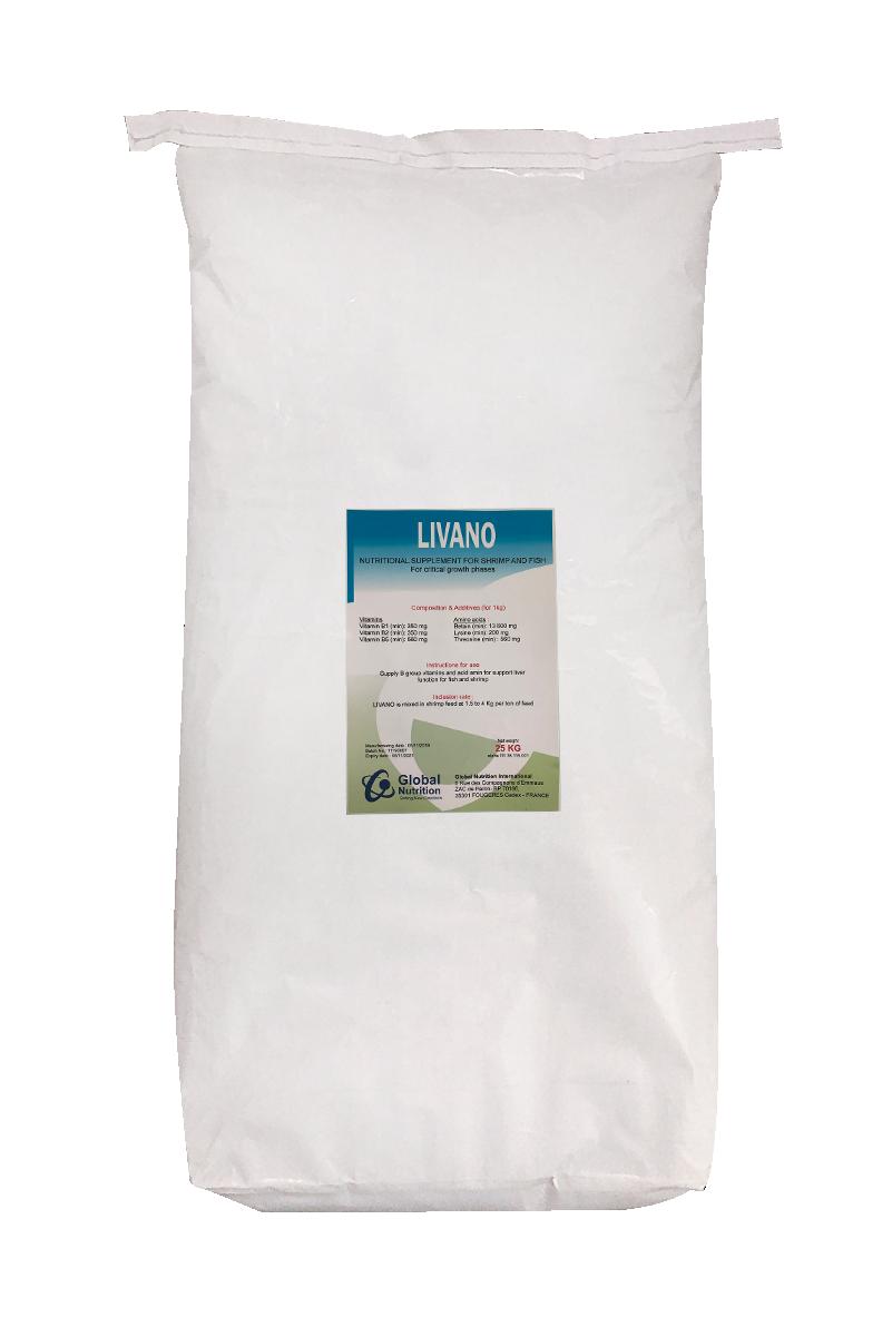 LIVANO - Bổ gan nguyên liệu