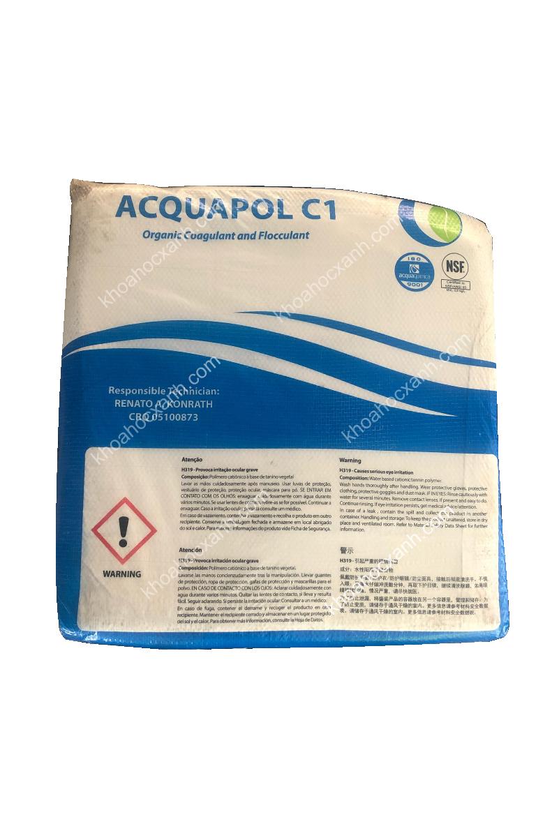 ACQUAPOL C1 - Siêu lắng tụ hữu cơ