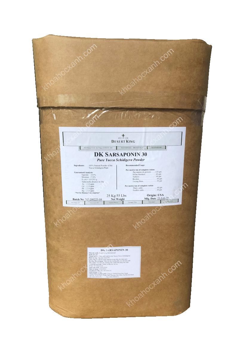 DK SARSAPONIN 30 - Yucca bột Mỹ