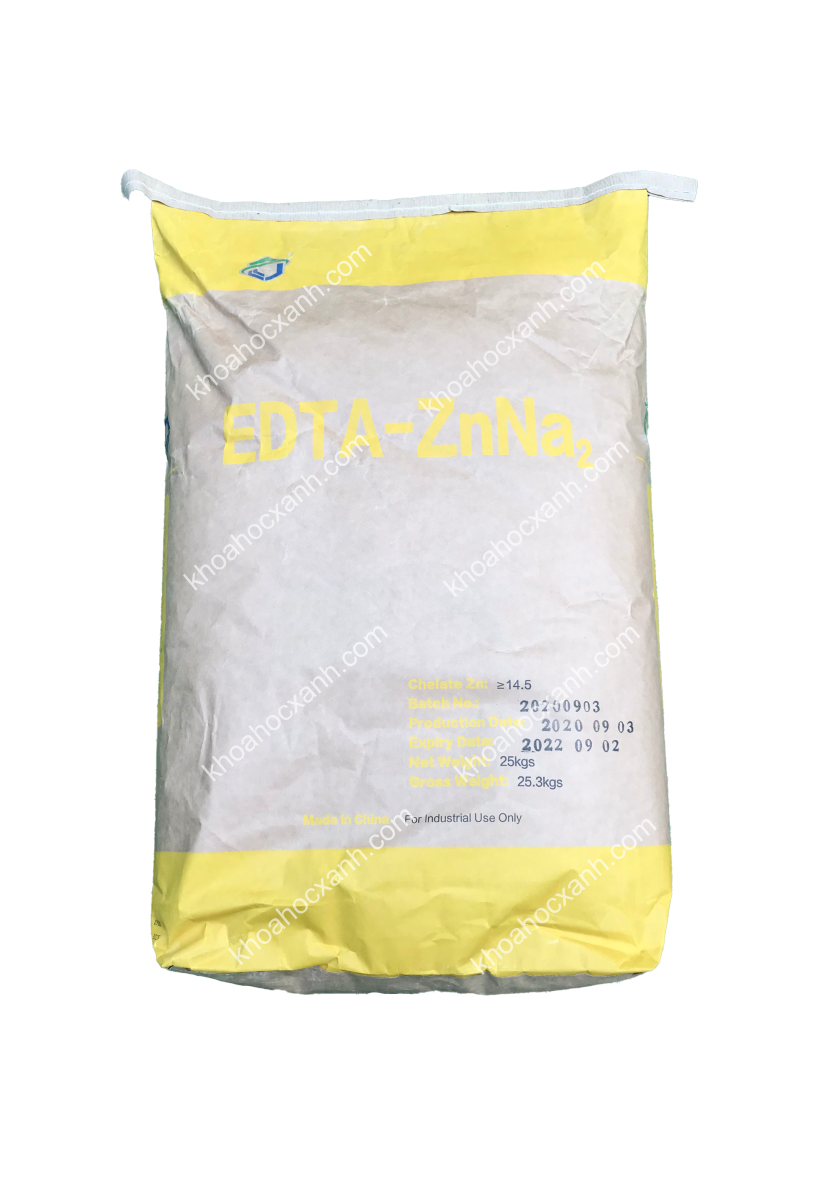 EDTA - ZnNa2 - Kẽm hữu cơ, kẽm chelate