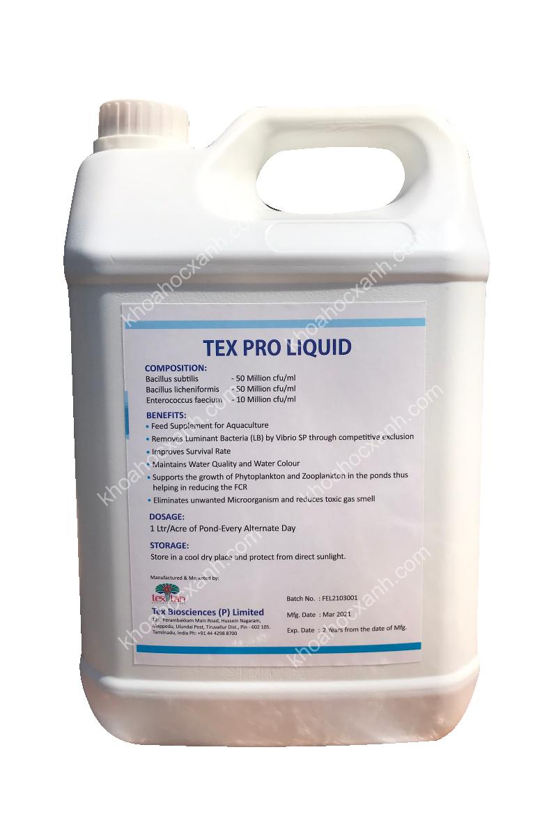 TEX PRO LIQUID MS - Men vi sinh dạng nước